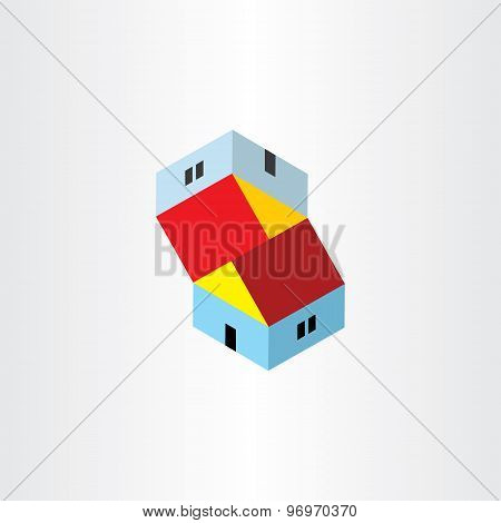 Unreal Houses Illusion Icon