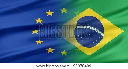 European Union and Brazil.