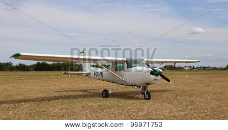 Thiene, Vicenza - Italy. 26Th July, 2015:light Aircraft In The Italian Airport