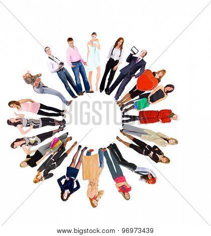 Workforce Concept Standing Together