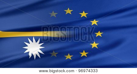European Union and Nauru.