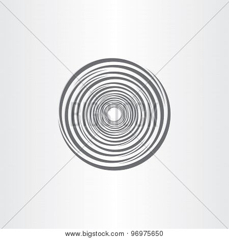 Spiral Abstract Circle Tornado Background
