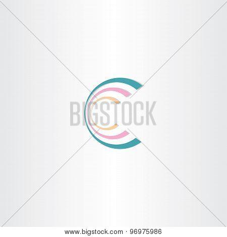 Business Icon Letter C Logo Design