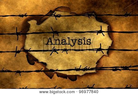 Analysis Text Against Barbwire