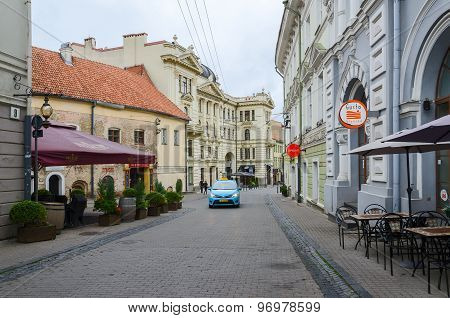 Vilnius, Old Town, Street Ausros Vartu