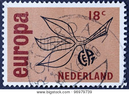 Europa postage stamp.