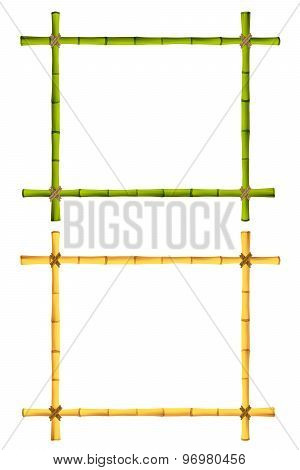 Set Of Bamboo Frame