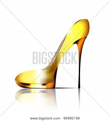 Large Jewel Shoe