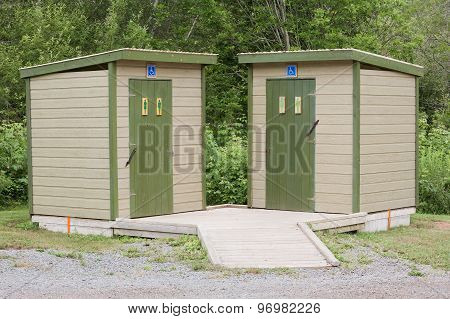 Outdoor Restroom Facilities