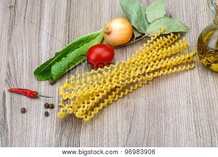 Long Raw Fusilli