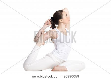 One Legged Royal Pigeon Pose