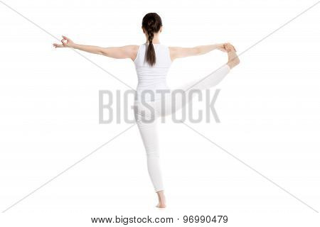 Extended Hand-to-big-toe Yoga Pose