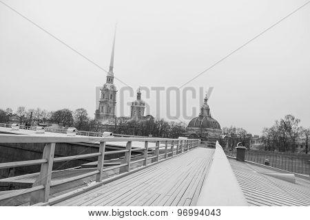 Petropavloskaya fortress, St. Petersburg, Russia