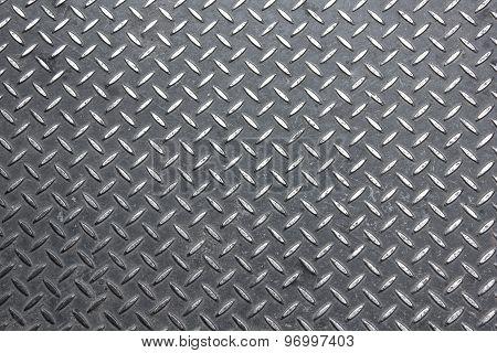 Walk Way Steel Diamond Plate Texture