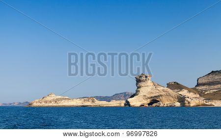 Coastal Rocks Near Bonifacio, Corsica