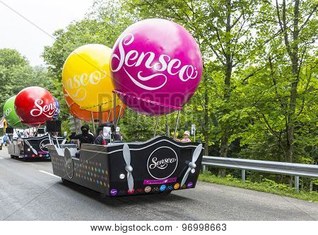 Senseo Vehicles - Tour De France 2014