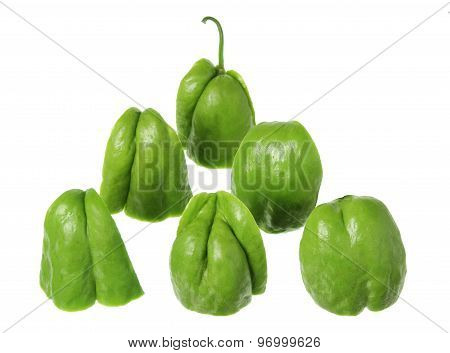 Pieces Of Chayote
