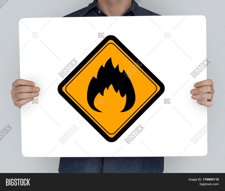 Flammable sign caution warning sign image photo bigstock flammable sign caution warning sign symbol buycottarizona