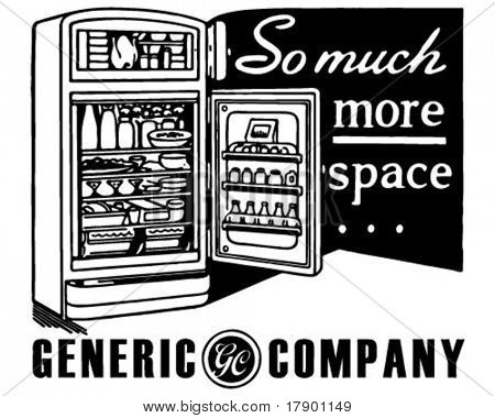 So Much More Space - Retro Ad Art Banner