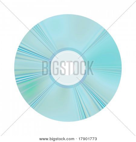 An image of a security compact disc backup