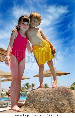 Children In Vacation