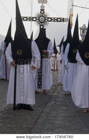 Penitents at Holy Week 06
