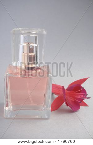 Perfume With Flower