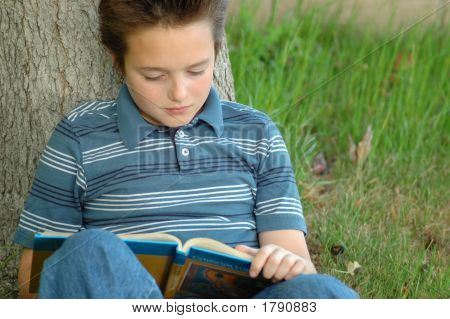 Young Reader Hungry For Knowledge