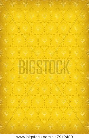 Seamless Vector Texture In The Gold