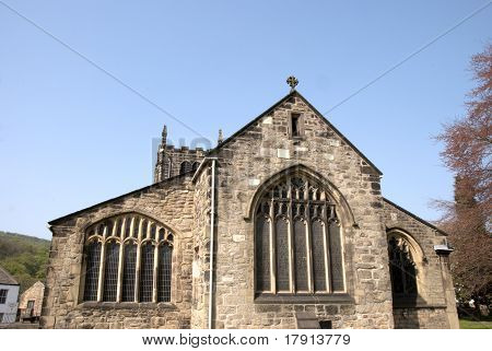 The Gable End of Bingley Church
