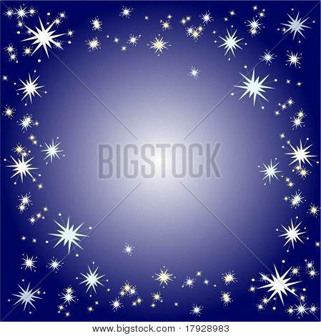 Starry Grenze Vektor