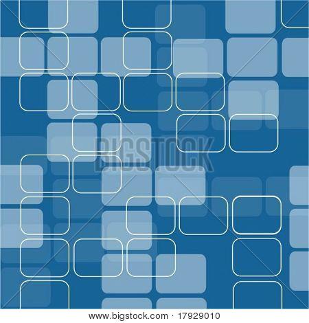 Retro squares - vector image