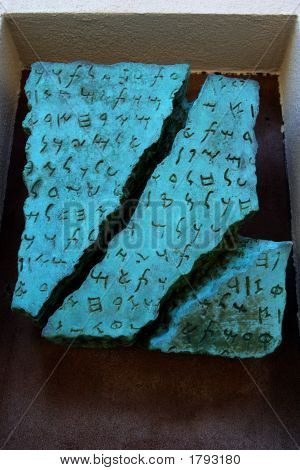 Ancient Scripture Scroll Replica