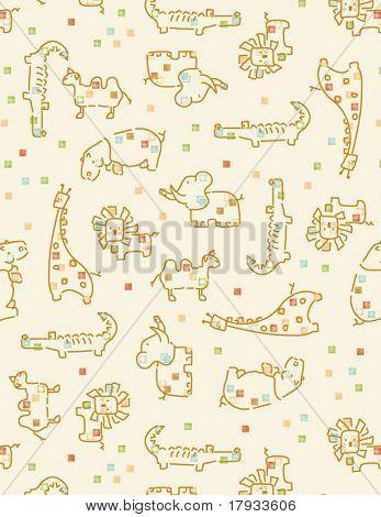 Baby Safari Pattern