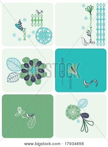 Vector Floral (Graphics Set)