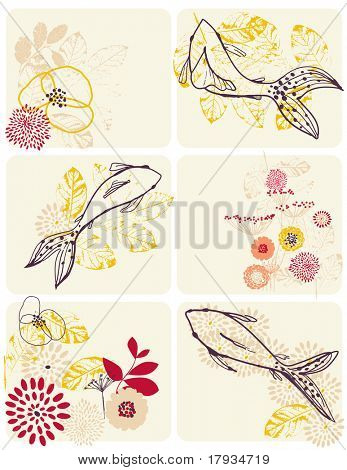 Vector Fish (Graphics Set)