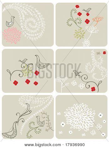 Vector Floral (Graphics Set)