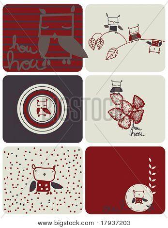 Baby Owl (Graphic Set)