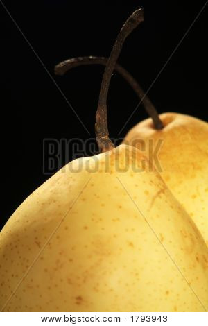 Isolated Chinese Pears