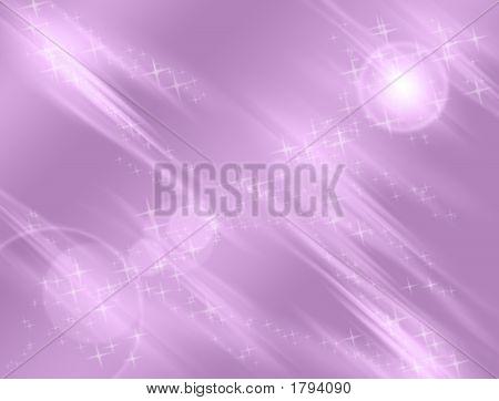 Violet Sparkles And Lights