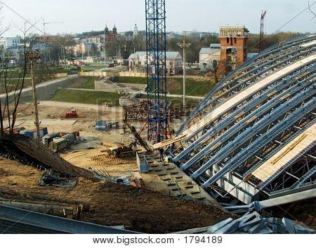 Festival Amphitheatre Roof - 03-04-2007