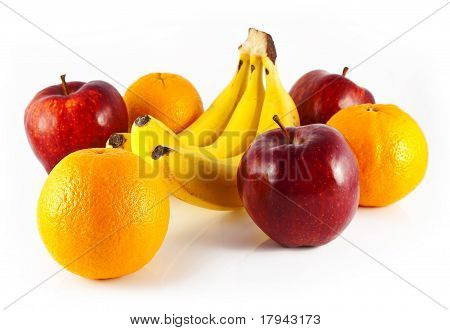 oranges apples and bananas