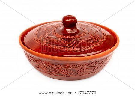 Clay geglüht Bowl