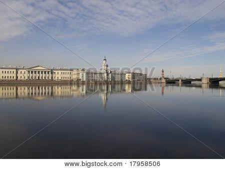 University Embankment. St.-petersburg