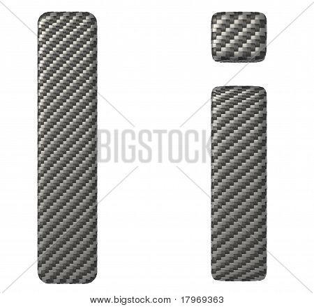 Carbon Fiber Font I