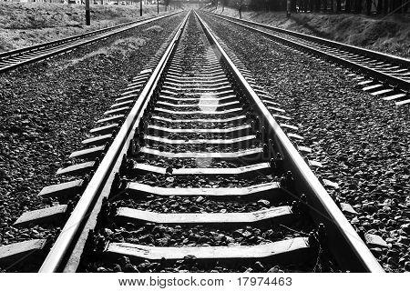 Uma estrada de ferro que fugir