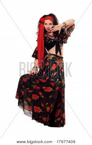 Sensual Gypsy Woman