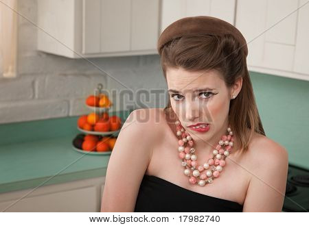Worried Woman