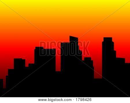 Citycape Silhouette