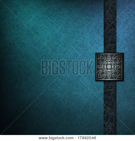 Elegant Blue Background Cover